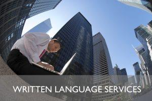 Corporate language services